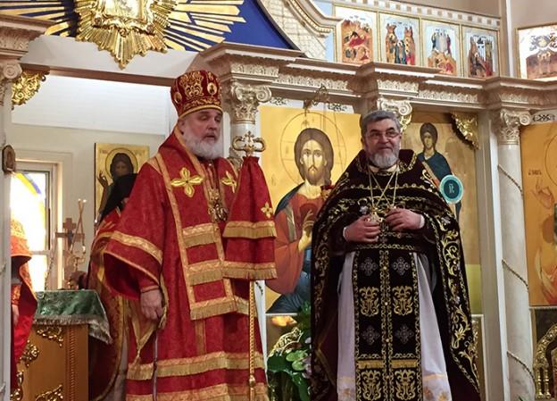 В день памяти святого благоверного князя Александра Невского настоятель собора отметил День ангела