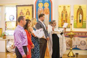 крещение в храме нью йорк