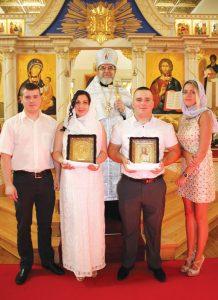 Венчание в церкви св. Иоанна