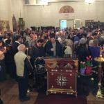 В Бруклинском соборе совершено Таинство Соборования