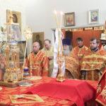 В день праздника Рождества Иоанна Предтечи Бруклинский собор отметил малый престольный праздник