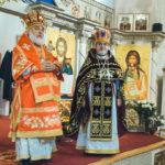 В день малого престольного праздника наш собор посетил архиепископ Монреальский и Канадский Гавриил