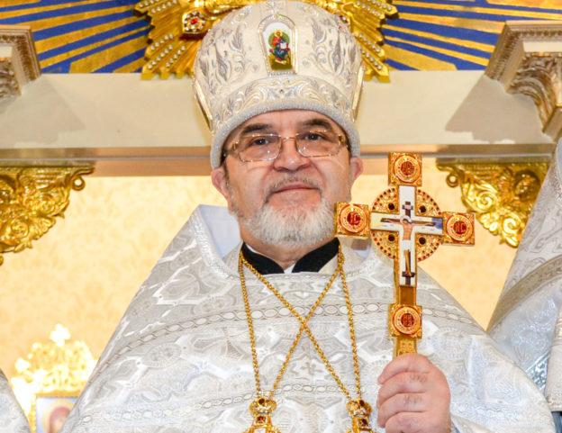 Рождественское поздравление настоятеля Бруклинского собора протоиерея Александра Беля