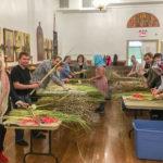 Накануне Вербного воскресенья в Бруклинский собор привезены пальмовые и вербовые ветви