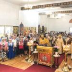 Богослужение в праздник Собора всех святых, в земле Русской просиявших