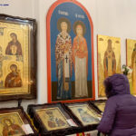 Торжественный праздник святого Николая в русском соборе в Бруклине