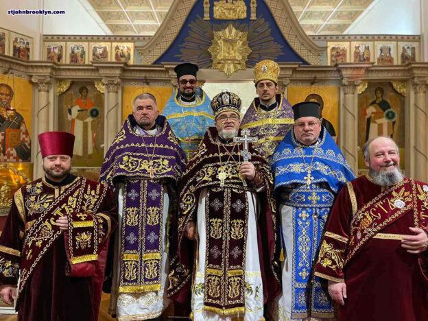 Праздник Торжества Православия в Бруклинском соборе