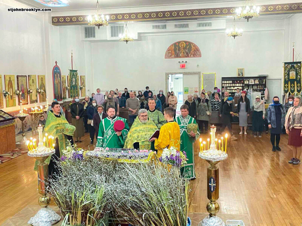 В Бруклинском соборе отметили праздник Входа Господня в Иерусалим