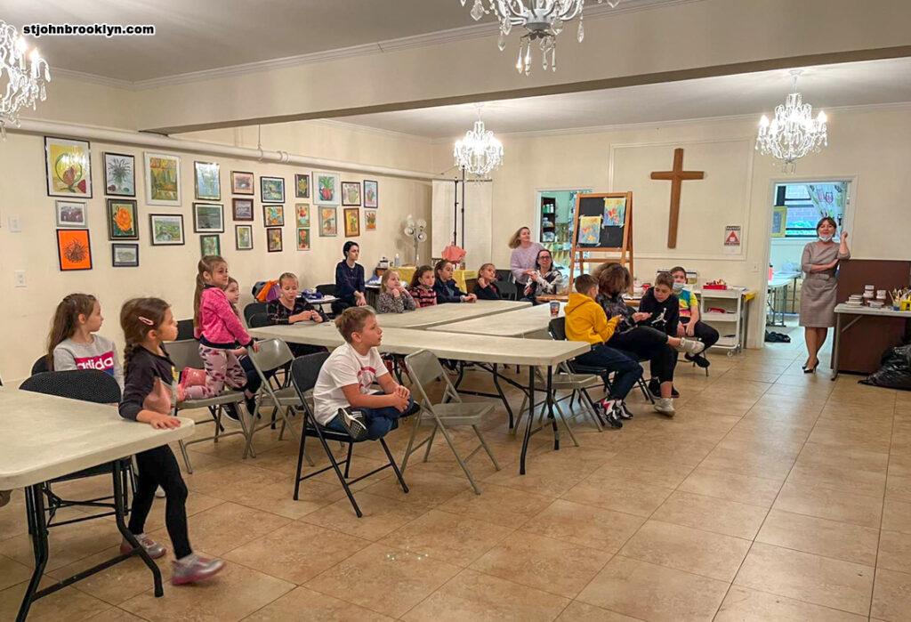 Завершение учебного года в детской русской школе Бруклина отметили традиционным праздником