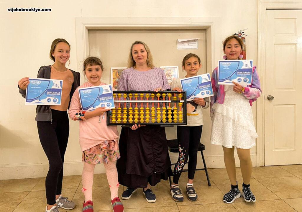 Воспитанники нашей школы среди победителей Международном онлайн-чемпионате по ментальной арифметике