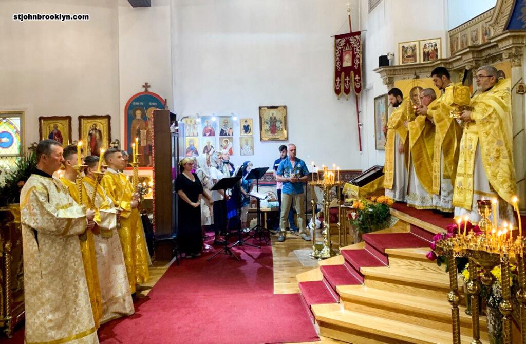 Литургия в 3-ю неделю после Пятидесятницы